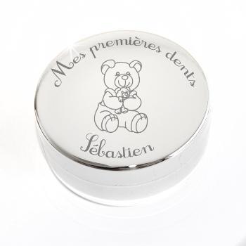 Boite a bijoux pour cadeau naissance personnalisé gravure prenom et ... 09abdd8ef30
